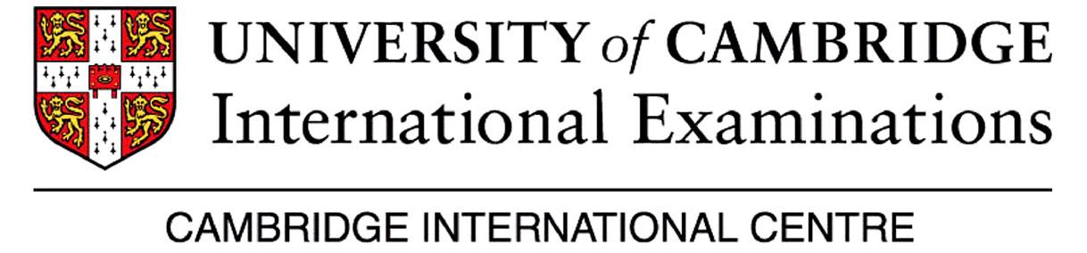 CIE Exams - Sri Emas International School