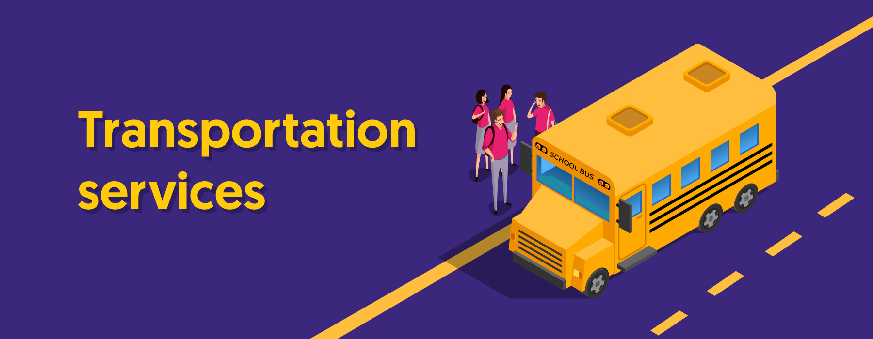 2. Transportation web banner
